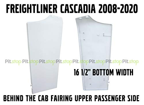 Freightliner Cascadia Semi Truck Behind Cab Cabin Fairing Extension Upper Right