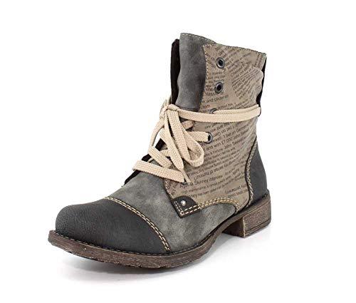 Rieker New Women's Payton 22 Boot Grey 39