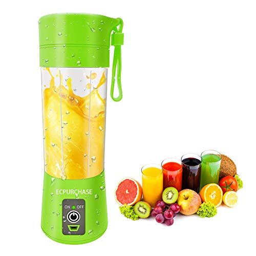 Portable Blender USB Rechargeable, Personal Blender Single Serve Blender, Small Blender Shakes...