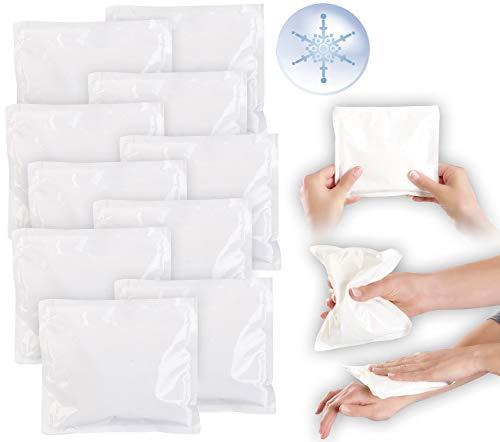 newgen medicals Kühl-Pad: 10er-Set Einweg-XL-Kühlkompressen zur sofortigen Anwendung, 15 x 17 cm (Kühlpads Sport)