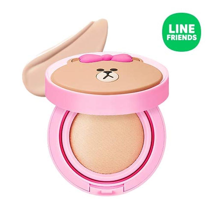 ラベ期待してエゴイズムミシャ(ラインフレンズ)グローテンション15g / MISSHA [Line Friends Edition] Glow Tension SPF50 PA+++ #Fair(Pink tone No.21) [並行輸入品]