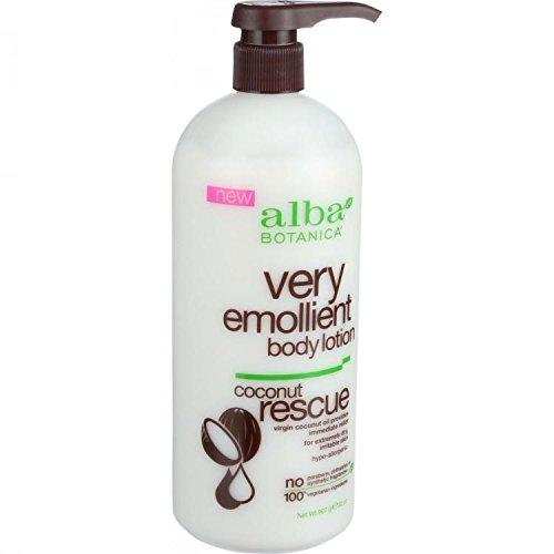 Very Emollient Body Lotion, Coconut Rescue, 32 oz (907 g) - Alba Botanica by Alba Botanica