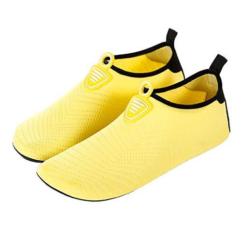 ZHANSANFM Barfußschuhe Unisex Damen Minimalistische Traillaufschuhe Outdoor Atmungsaktiv rutschfest Wasserdicht Laufschuhe Leichtgewicht Bequeme Strand Sneaker Schnell Trocknend Gr.34-41