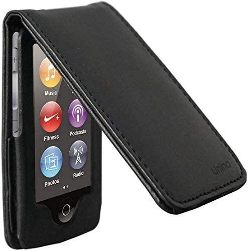 Unino iPod Nano 7 Flip Case P U Vegan Leather Version 3 Black product image