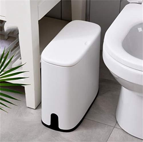 Garbage Bin vuilnis kan Afvalmand Prullenmand thuis keuken badkamer pers type prullenbak grote overdekte papieren mand