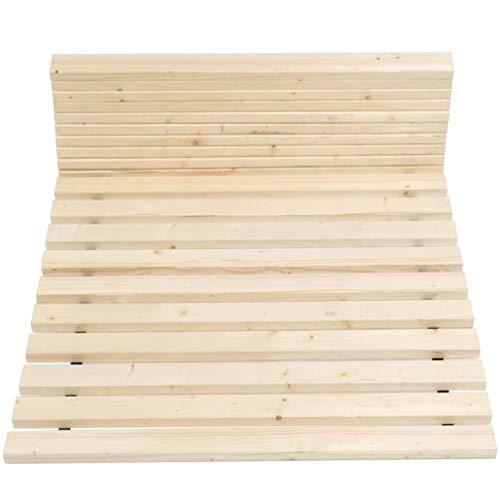 TUGA - Holztech Rollrost Lattenrost über 500kg Flächenlast - Bettgröße 100 x 200 cm - 25 Jahre Garantie - inkl. Befestigungsschrauben