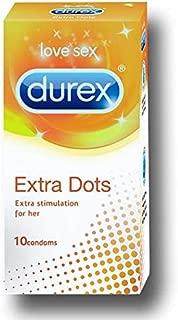 Durex Excite Me Condom - 10 Pcs (Pack Of 4)