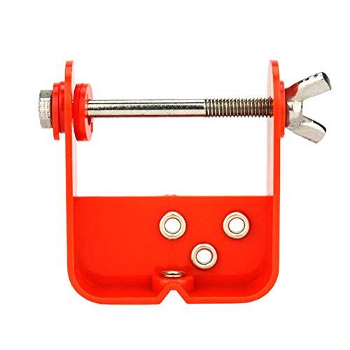 SparY Cuerda de Arco Servidor, Plantilla Herramienta Arco Compuesto Exterior Rápidamente Duradero Ajustable Ración Tiro con Arco Hilo Profesional Mini Suministros Piezas Accesorios - Rojo, Free Size
