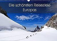 Die schoensten Reiseziele Europas (Wandkalender 2022 DIN A3 quer): Eine Reise zu den schoensten Reiseziele Europas. (Monatskalender, 14 Seiten )