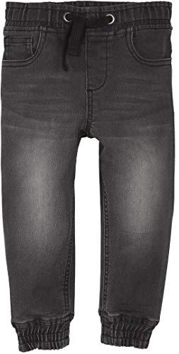lupilu® Jungen Jeans, elastisch mit Gummizugbung (grau Denim, Gr. 86/92)