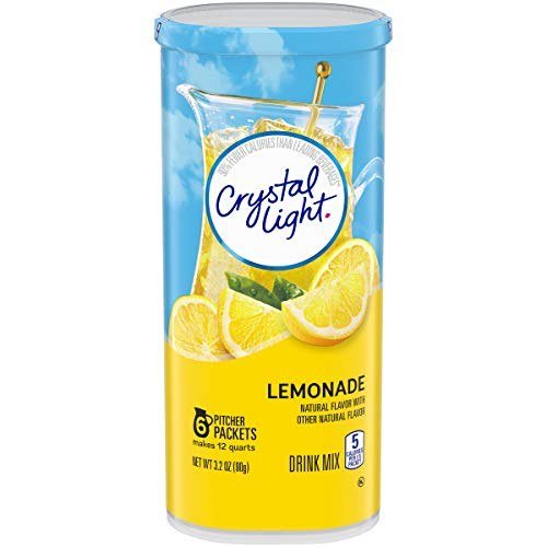 Crystal Light Lemonade Powdered Drink Mix