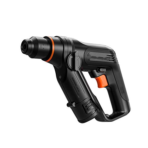 Cordless Electric Rotary Hammer Drill, Smooth Start, High Frequency Hammering, Low Noise Work, Suitable for Furniture Installation, Etc, Size 6.3x3 Inch