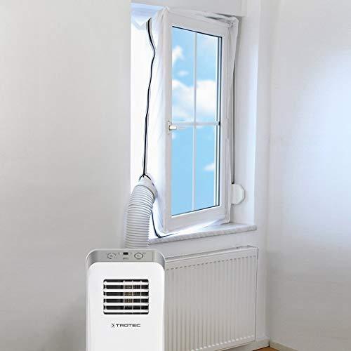 Hukz Klimaanlage Auslass Abluft Fensterabdichtung für Mobile Klimageräte, 560CM Universal AirLock Hot Air Stop Für Fenster, Kippfenster, Dachfenster