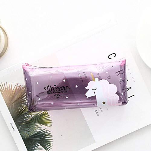 Venta caliente 1pcs Dragen-Li Estuche de lápices Cute Pattern Pencilcase Large Pen Bag Box Multi Kids Multifunction Stationery Pouch, 6