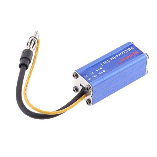 MagiDeal Convertisseur 16MHz de Voiture FM USB Transmetteur DC12V MP3 FM Radio