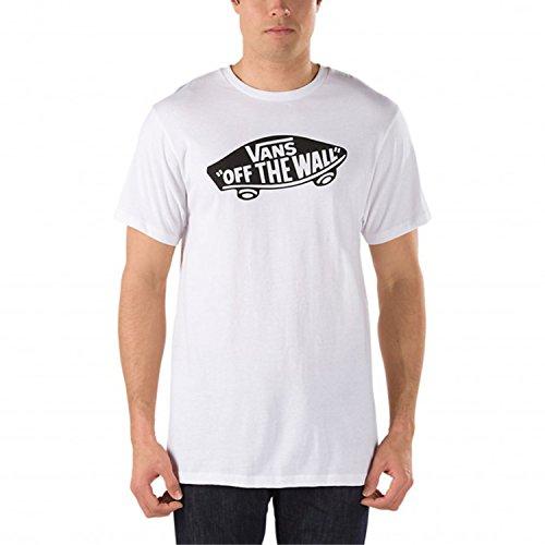 Vans Herren OTW T-Shirt, Weiß (WHITE-BLACK YB2), X-Small