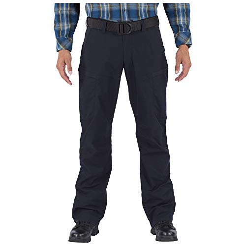 5.11 Tactical Series APEX Pant Homme, Dark Navy, FR : L (Taille Fabricant : 36)
