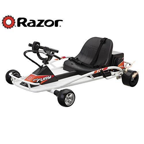 Razor Ground Force Drifter Fury Kart - White