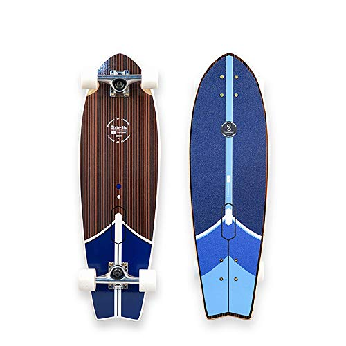 Hignful Carver Skateboard Patinetas Profesionales Skate Board Principiante Longboard Cruiser Surfskate Cepillo Calle Monopatín Surfskate 27 in Tabla Surf for Principiantes Adolescentes Adultos