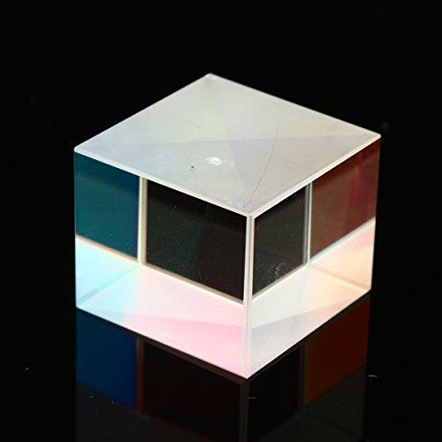 MASUNN 20x20x17mm Defectieve Cross Dichroom Glas X-Cube Prisma kubus RGB Combiner Splitter Prisma