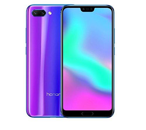 Huawei Honor 10 (COL-L29) 128GB Blue, Dual Sim, Dual Camera 24MP+16MP, 4GB RAM, GSM Unlocked International Model, No Warranty