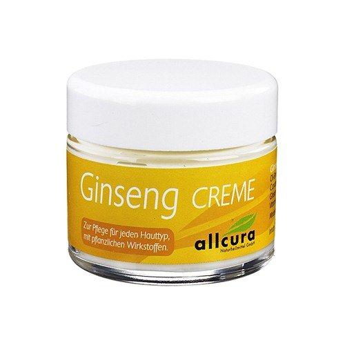 Ginseng-Creme I Gesichts-Creme Aus Weißem Ginseng I Anti-Aging Creme I Nachtcreme I 50 ml