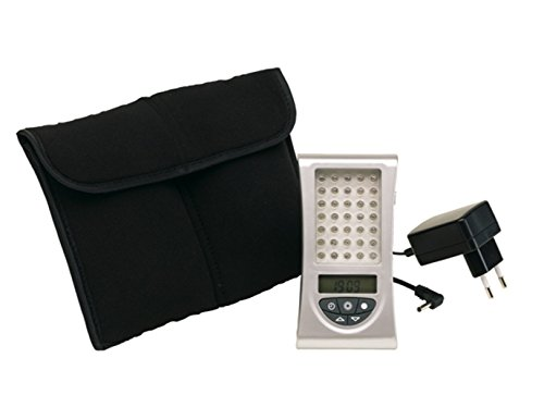 Lichttherapie Wohlfühllicht als Lichtdusche 35 LED + Tasche