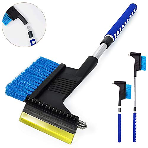 Save %16 Now! 35 Extendable Car Snow Brush and Ice Scraper Auto Car Window Windshield Scraper with ...