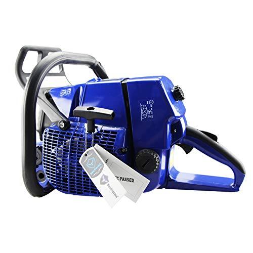 Jardiaffaires - Motosega termica G444, 70 cc, guida 70 cm di taglio