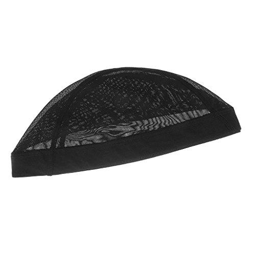 T TOOYFUL Les Perruques/Chapeaux Nets De Maille De Chapeau De Chapeau élastique Faisant Le Noir De Filet à Cheveux De Spandex Snood