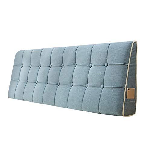 GYH pillow LJHA Baozhen Cojín Triangular de Color sólido, cojín de Respaldo de Cama Doble, cojín de Respaldo de sofá, para Cama de Matrimonio o sofá, estilo1, 190 cm