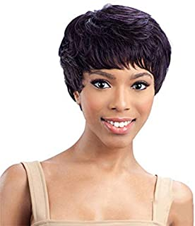 Hair Wigs Heat Resistant Natural Wave African American Women Short Wig