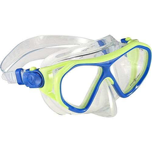 Aqua Lung Sport Kinder Urchin JR Tauchmaske, Bright Green/Light Blue, S