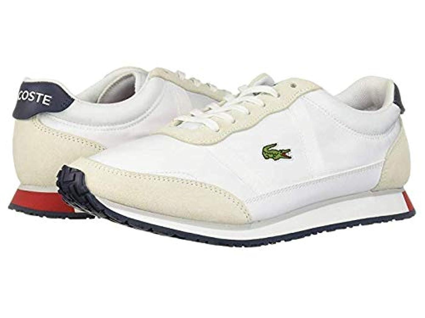 [ラコステ] レディーススニーカー?靴?シューズ Partner 119 4 White/Navy/Red US 8.5 (25.5cm) M [並行輸入品]