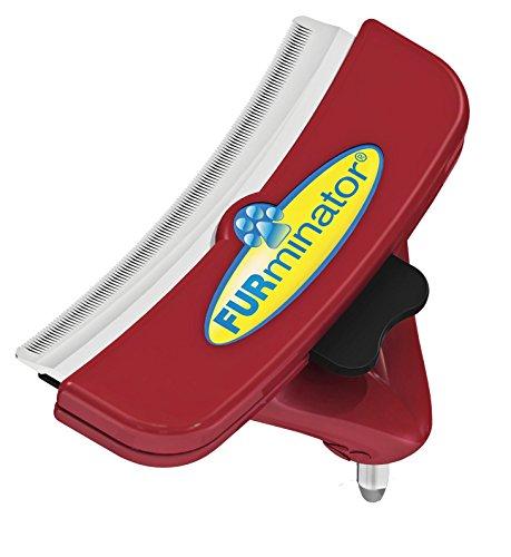FURminator FURflex, Fellpflegebürste für große Hunde, deShedding-Aufsatz zur Entfernung der Unterwolle, Größe L