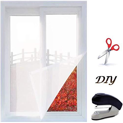 Ezoon Strapazierfähiges Katzenschutznetz, Sicherheitsnetz, gegen Mücken, Käfer, Fliegengitter, Fenstergitter für Vögel, zugeschnitten, kein Bohren