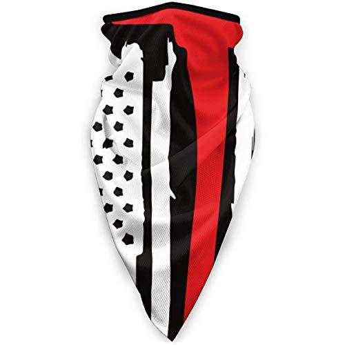 Zome Lag Bandera De Colorado Pop Art Pañuelo Facial,Calentador De Cuello Unisex,Pasamontañas,Bandanas De Exterior,Envoltura Suave para La Cabeza