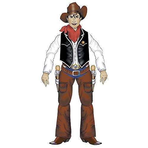 Widmann - Cow boy cartonné 1.40 mètre