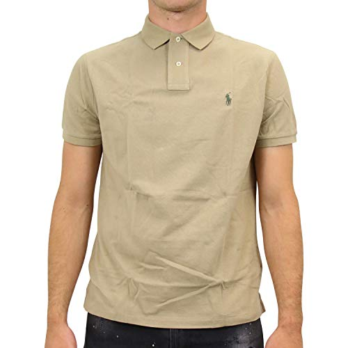 Ralph Lauren Herren Poloshirt Khaki M