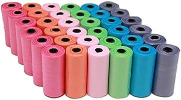 BPS (R) Bolsas de Caca Bolsa Excremento 36 Rollos, Total 540 Bolsas, Poop Bag para Perro, Mascotas, Animales Domésticos...