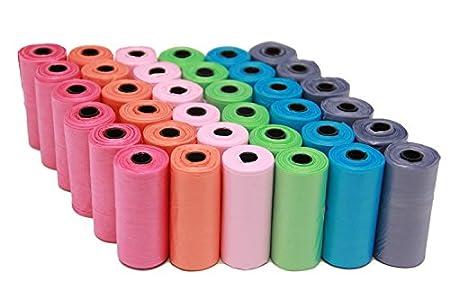 BPS (R) Bolsas de Caca Bolsa Excremento 36 Rollos, Total 540 Bolsas, Poop Bag para Perro, Mascotas, Animales Domésticos (36 rollos) BPS-2329-2
