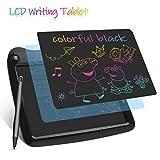 Enotepad LCD Schreibtabletten, Colorful LCD Writing Tablet Schreibtafeln 9 Zoll Digital eWriter für Kinder Tragbare elektronische Schreibtafeln Schwarz