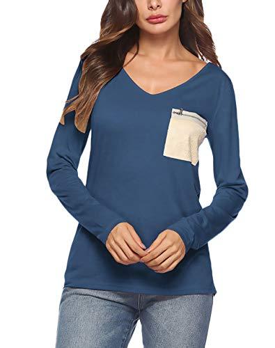 Top koszulka koszulka koszulka t-shirty damskie T-shirty T-shirty unikalne koszule z długim rękawem bluzki top bluzki damskie wiosna jesień elegancka wyprzedaż młoda moda na co dzień wąskie body