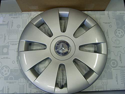 Mercedes Benz Original 4 Stück 16 Zoll Radkappen Silber/Blau W 639 Viano & Vito Baujahr 2003-2014