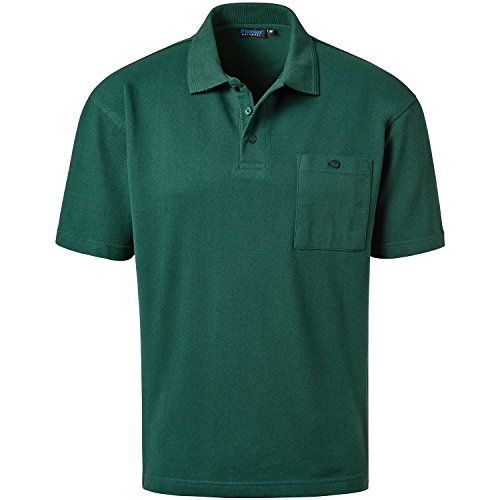 PIONIER WORKWEAR Herren Poloshirt-Piqué kurzarm in grün (Art.-Nr. 2712)