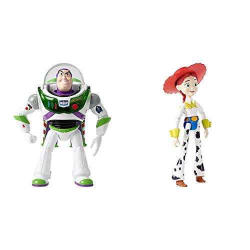 Disney Pixar Toy Story Blast-Off Buzz Lightyear Figure & Disney Pixar Toy Story Jessie Figure