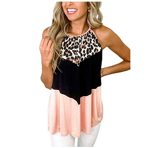 hollywin Women Fashion Casual Solid Color Button Bowknot Camisole Vest Top Pink