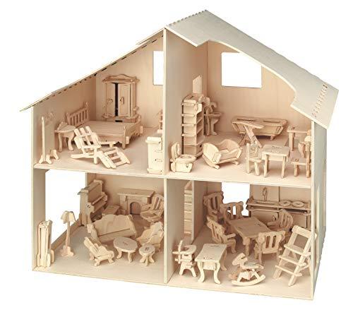 Pebaro 880 - Casa de muñecas con Muebles
