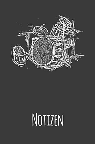 Schlagzeuger Notizbuch: A5 Dodgrid (gepunktet)   Agenda Journal   Schlagzeug Zubehör für Männer   Mann