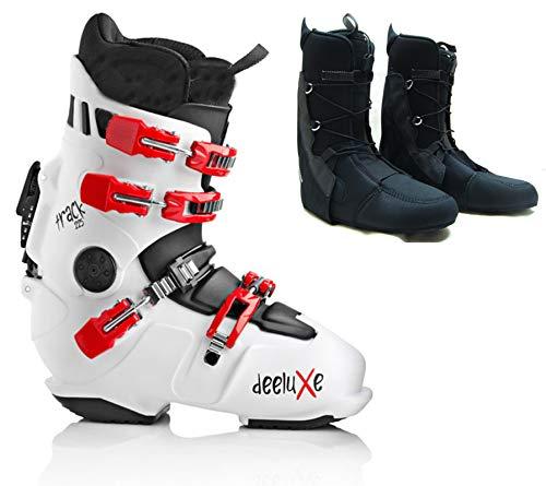 Deeluxe Track 225 White Snowboard NEU HARDBOOT Lacer Innenschuh (28.5-43.5 EU)